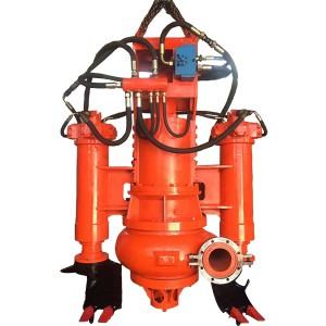 SS Hydraulique Submersible Lisier Ponp