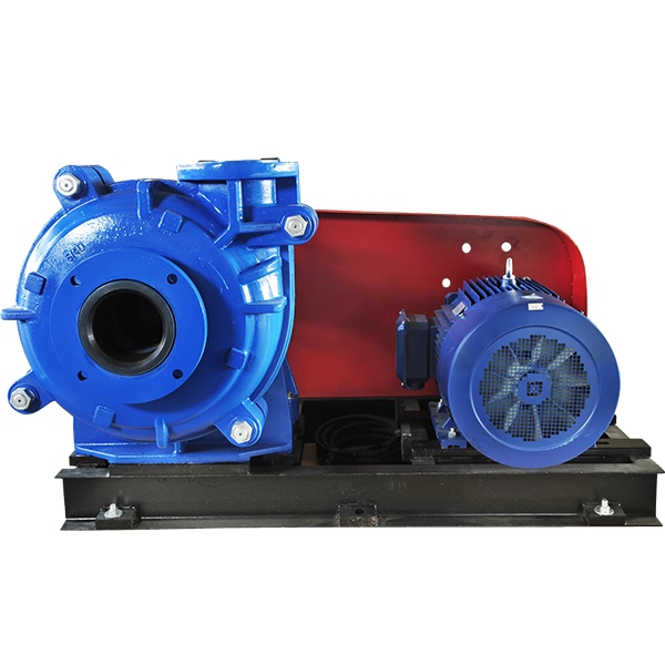 AHR horzontal slurry pump with motor