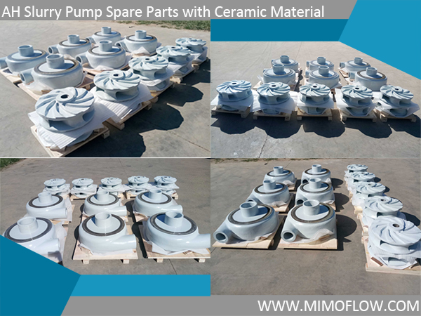 Good News! 8x6E-MAH Spare Parts with Ceramic Material Provided to our Malaysia Customer!