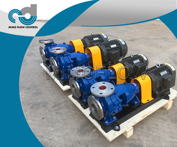 CONGRATULATIONS! 4SETS IH END SUCTION CHEMICAL PUMPS FINISHED!